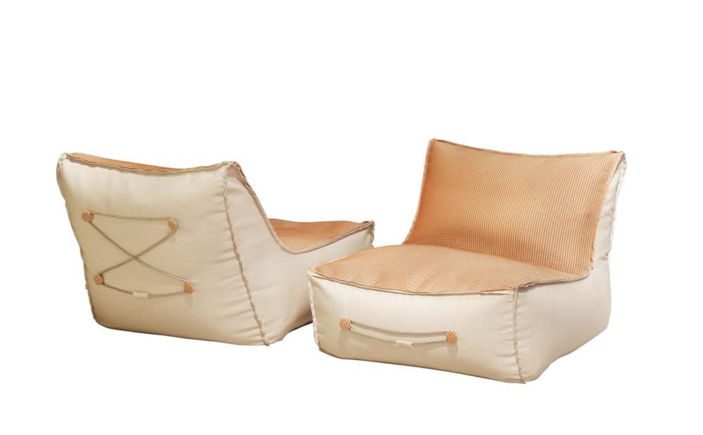 Chill Sessel für den Außenbereich mit abnehmbaren Bezug