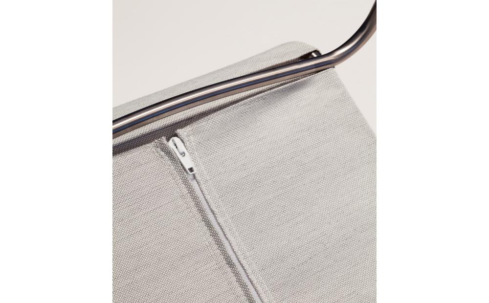 Coro Jubeae JP Stuhl SUN oder Batyline ® Gewebe Gewebe Rahmen Edelstahl satiniert stapelbar