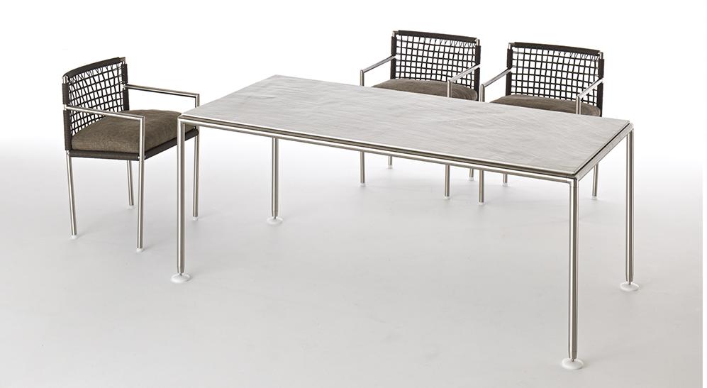 Coro Nest Outdoor Lounge Tisch rechteckig 1800 x 900 mm Höhe 370, 600 oder 730 mm