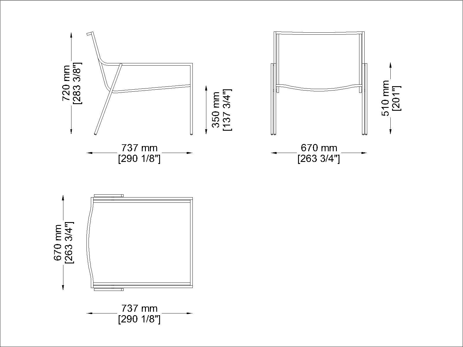 Coro SG1 P Stuhl Polyurethan-Lamellen Rahmen Edelstahl satiniert stapelbar