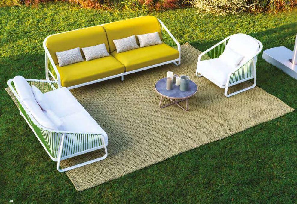 Sally Outdoor Sofa 250 x 97cm