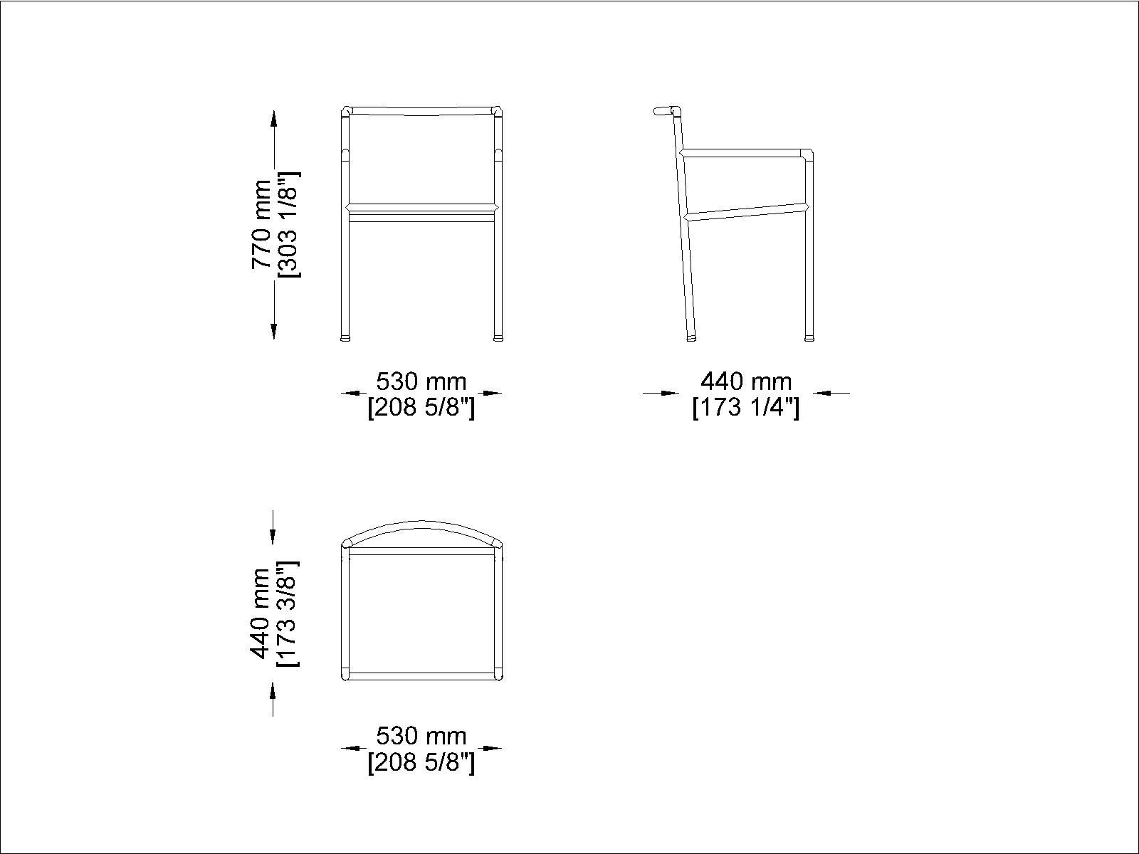 Coro Nest Stuhl PVC Geflecht 3 oder Acryl 6 mm Rahmen Edelstahl satiniert