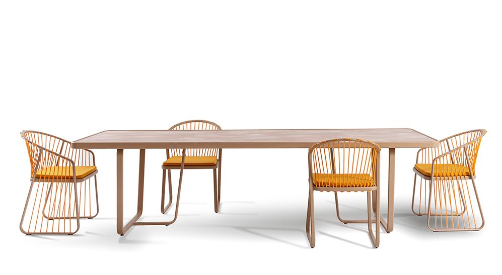 CORO Sally Tisch rechteckig 2850 x 1000 mm