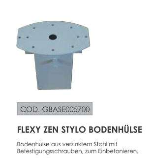 Markisendach Flexy Zen rechteckig 250 x 428 cm mit Kurbelbedienung