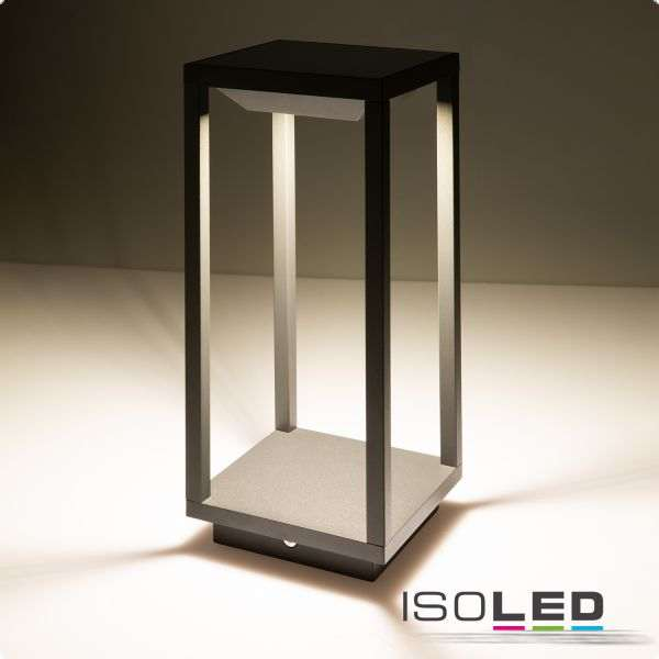 LED SOLAR Laterne Outdoor leuchte, warmweiss